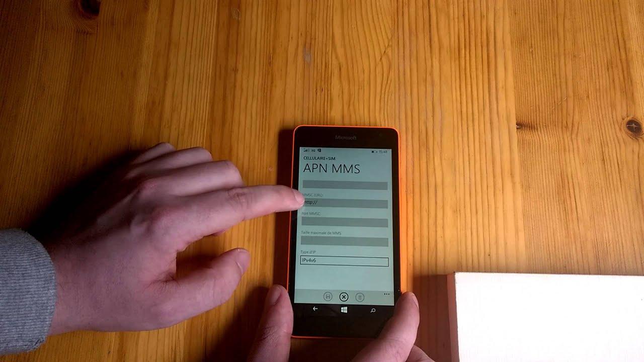 Aide à La Configuration Des Mms Nokia Lumia Avec Free Mobile Youtube