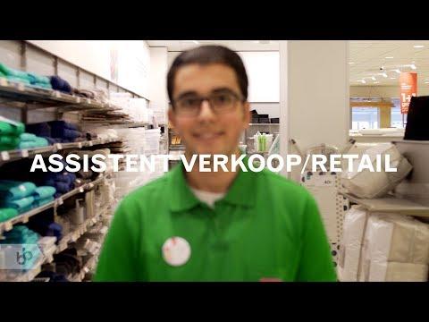 Assistent verkoop/retail (SBB)