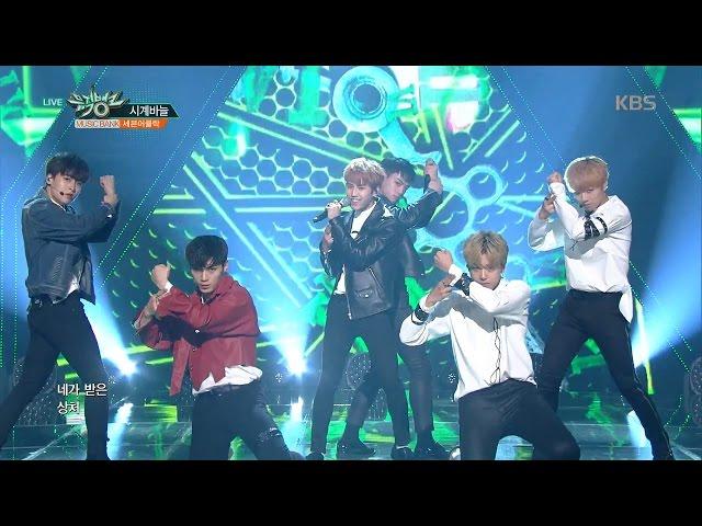 뮤직뱅크 Music Bank - 시계바늘 - 세븐어클락 (ECHO - Seven O'Clock).20170428