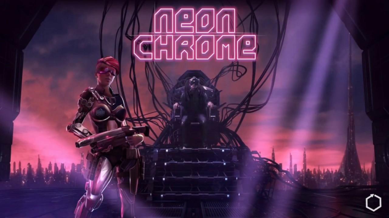 Neon Chrome. u0410u043du0434u0440u043eu0438u0434 GamePlay.