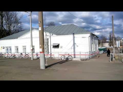 Народная велостоянка на станции Жуковка