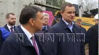 В Нижегородской области ведется масштабное строительство и ремонт дорог