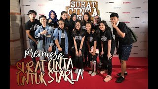 Video GALA PREMIERE #SuratCintaUntukStarlaTheMovie WITH CAST!!! download MP3, 3GP, MP4, WEBM, AVI, FLV Januari 2018
