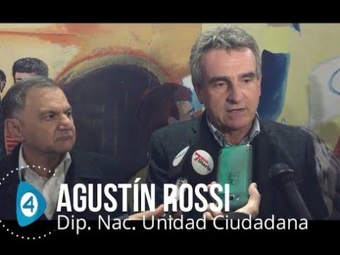 El diputado nacional Agustín Rossi realizó una recorrida por Florencio Varela
