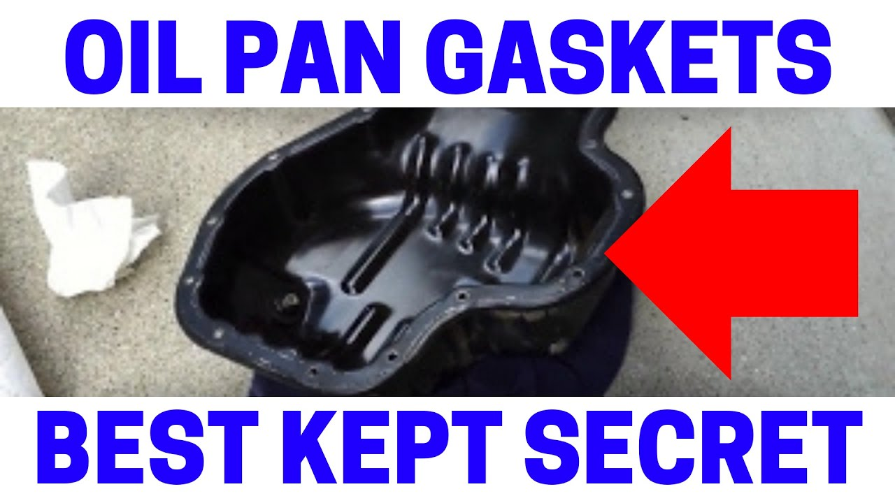 how to replace toyota camry oil pan gasket [ 1280 x 720 Pixel ]