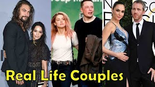 Real Life Couples of Aquaman