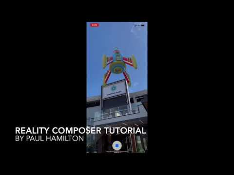 Reality Composer Tutorial thumbnail