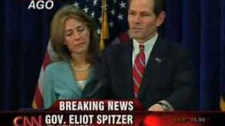 Video of Gov. Spitzer Stmnt. After Prostitution Allegation