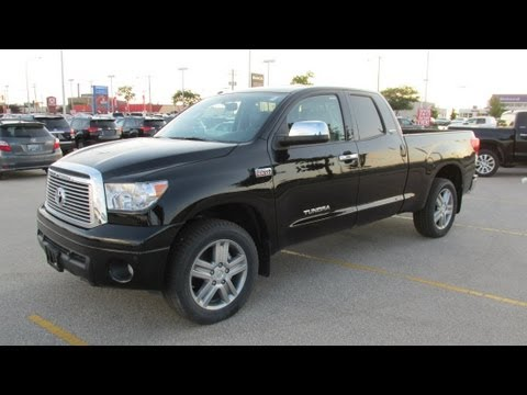 2013 Toyota Tundra Limited Double Cab 4x4 Start Up, Walkaround And Vehicle  Tour