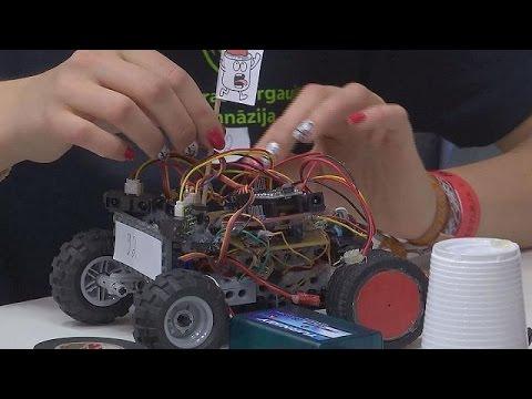 Robotex 15 - ein kreatives Festival der Maschinen - hi-tech