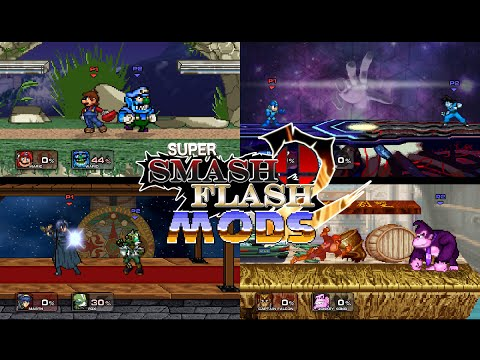 SSF2 Mods Stages Gameplay