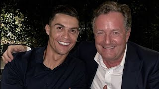 Cristiano Ronaldo BREAKS DOWN During An Interview With Piers Morgan | MEAWW