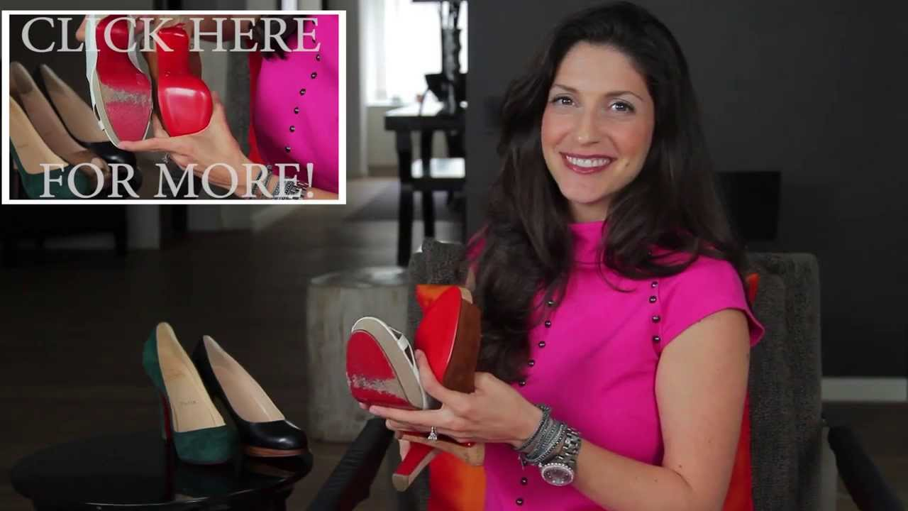 dc2246eb50e How to Spot a Fake Christian Louboutin Shoe: Part 01 - Michael's, The  Consignment Shop for Women
