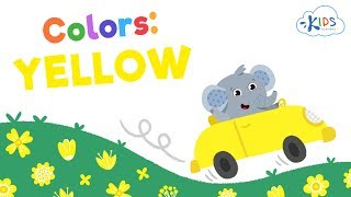 What Color is Yellow  Learning Colors for Toddlers, Preschool and Kindergarten  Kids Academy