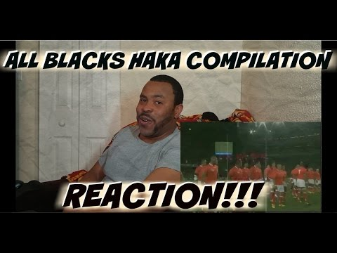 All Blacks Haka Compilation REACTION!!!