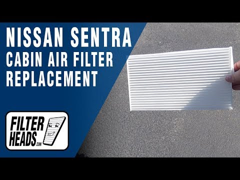 How to Replace Cabin Air Filter 2014 Nissan Sentra