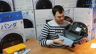 робот-пылесос CLEVERPANDA i7, Видеообзор