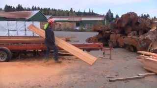 Visiting A Saw Mill - A Woodworkweb.com Woodworking Video