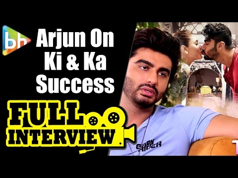 Ki & Ka Success Full Interview With Arjun Kapoor