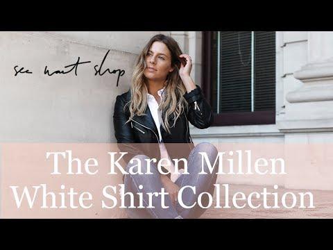 HOW TO STYLE THE KAREN MILLEN WHITE SHIRT