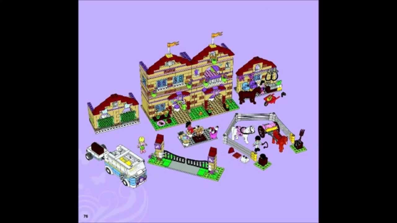 Lego friends building instructions lego. Com.