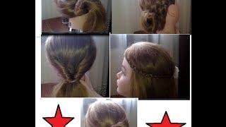 5 łatwych fryzur do szkoły.