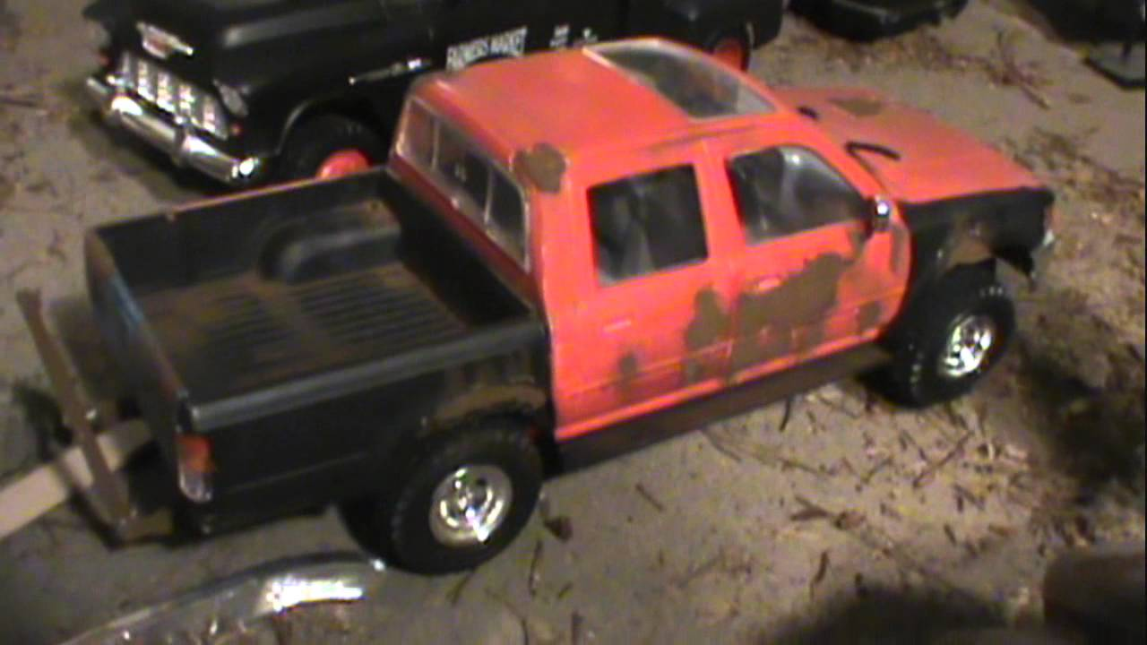 MODEL CAR JUNKYARD NEW ARRIVALS NEW 55 CREW CAB BUILD - YouTube