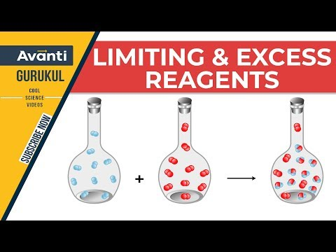 Limiting & Excess Reagents | Basic concepts of chemistry | Chemistry | IIT JEE | Class 11 | C1.4.2