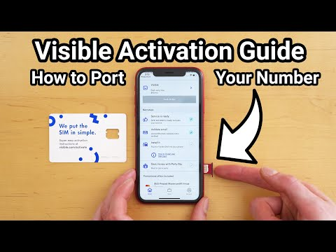 Visible Activation Guide - How To Port Your Number