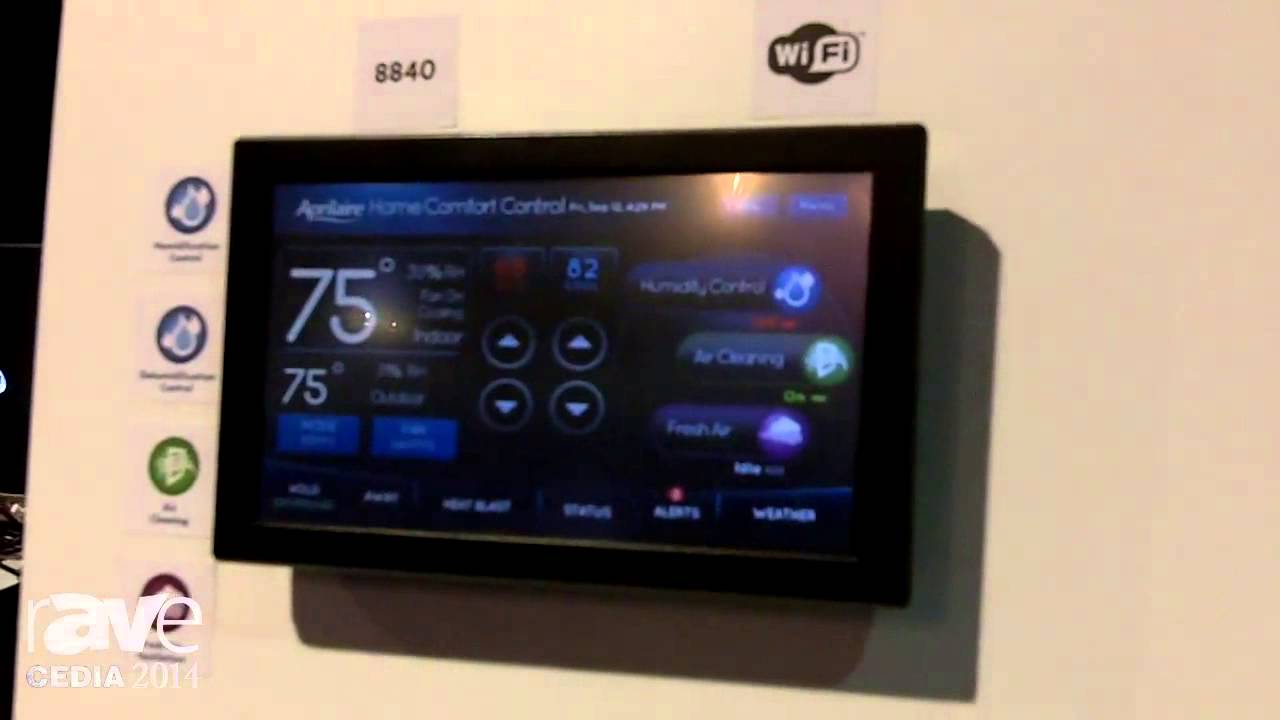 maxresdefault cedia 2014 aprilaire details their wifi thermostat youtube aprilaire 8620 wiring diagram at gsmx.co