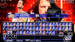 WWE SVR11/2K19 (FINAL MOD PATCH UPDATED ROSTER AND SAVEDATA BY CONNOR CJ)