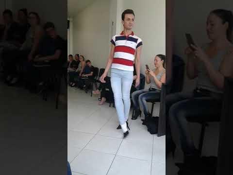 Anderson Sassi aula  Fame models em Caxias do Sul