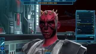 SWTOR Let's Play | Sith Warrior Class - Part #1 | Dalagrath | SWTOREXTREME