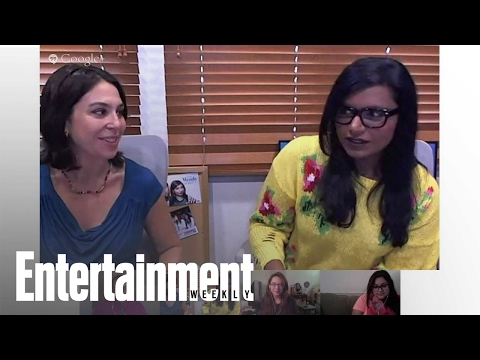 Mindy Kaling Dishes About Emmy's Night, James Franco & Her New Book | Entertainment Weekly