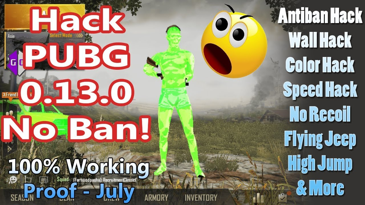 How to Hack PUBG Mobile 0.14.0 without Ban | 100% Working