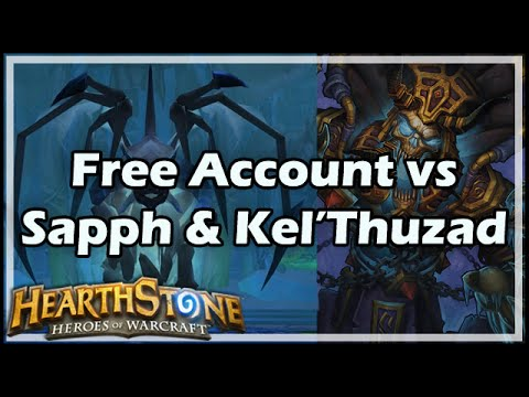[Hearthstone] Free Account vs Sapphiron & Kel'Thuzad