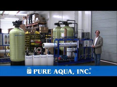 Industrial Seawater RO System Fiji Islands 11,000 GPD | www.PureAqua.com