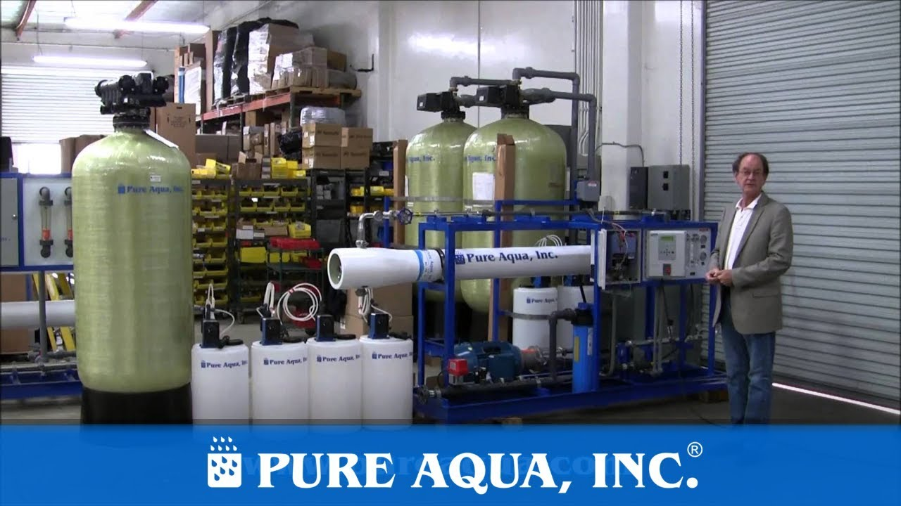 Industrial Seawater RO System Fiji Islands 11 000 GPD