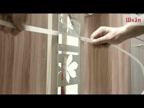 видео: Переклейка зеркал