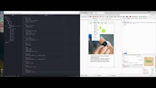 webdev timelapse - from logo to website in 2 hours