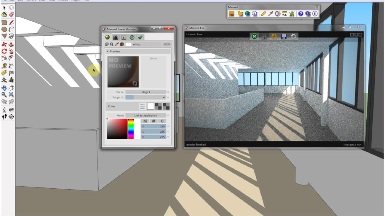 maxwell free for sketchup 8 youtube