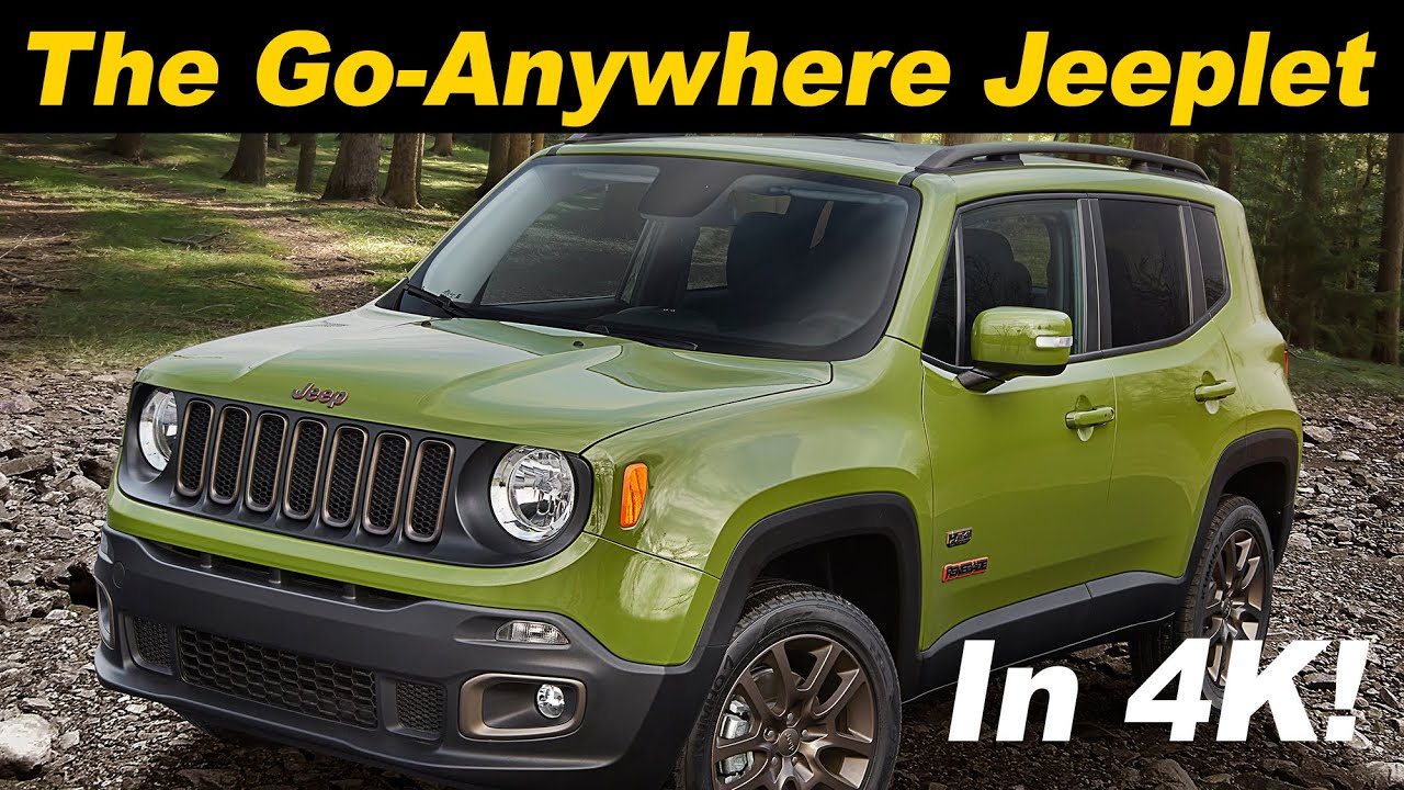 2016 2017 Jeep Renegade Review And Road Test Detailed In 4k Uhd