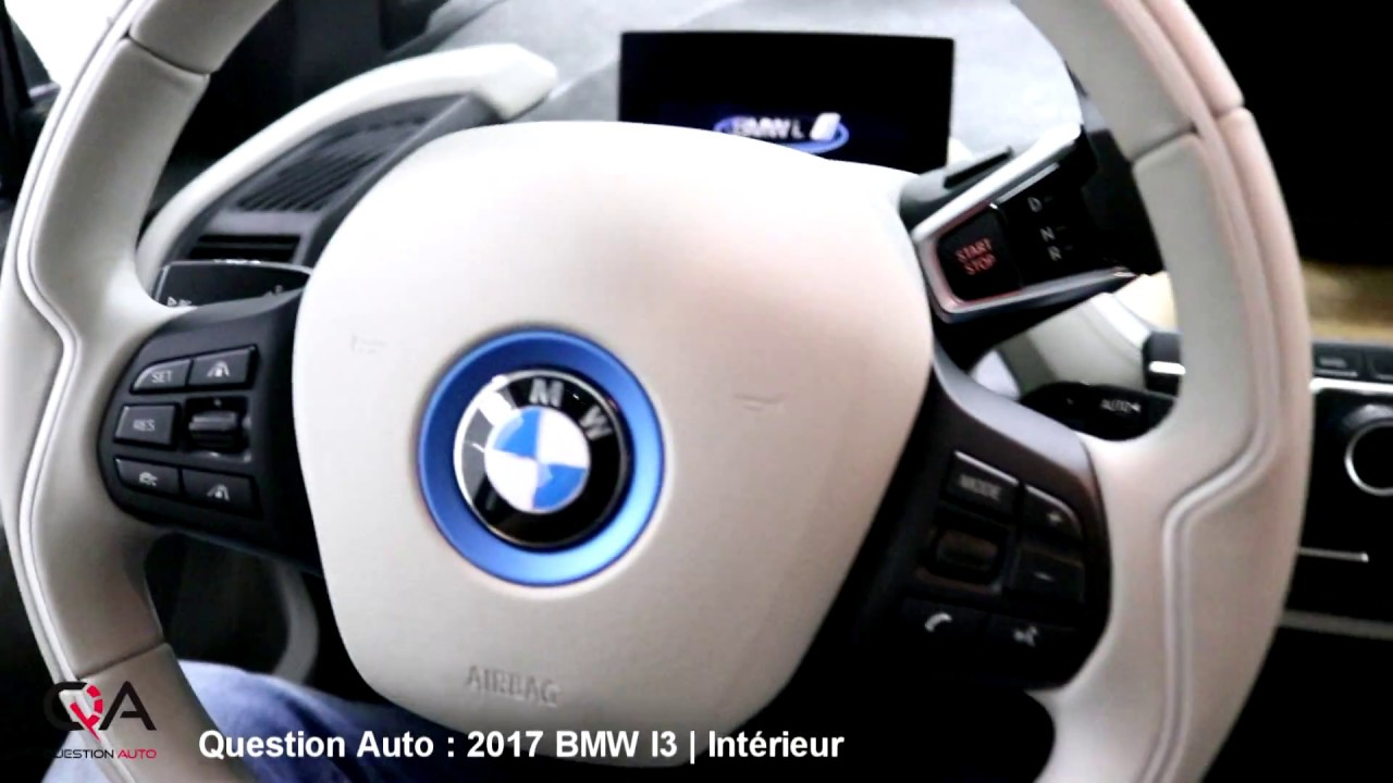 2017 bmw i3 avec prolongateur d 39 autonomie l 39 int rieur essai ultra complet partie 2 7 youtube. Black Bedroom Furniture Sets. Home Design Ideas