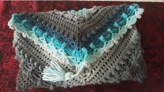 Bu gün sizlere lost in time shawl yapımını gösterdim umarım beğenir...