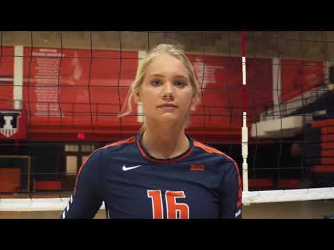 Illini Volleyball   16 Days until the 2017 Season - Morgan O'Brien