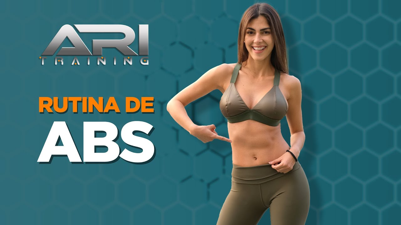 Rutina de ABS - Ari Training #ABSWorkout