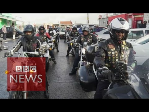 South Africa's black motorbike clubs - BBC News