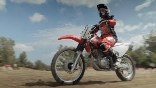 Girls Learn to Ride Dirt Bikes -- /RideApart