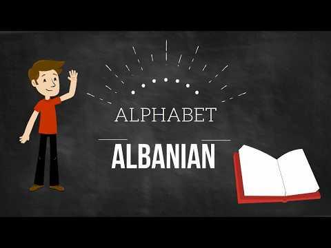 Albanian - Alphabet