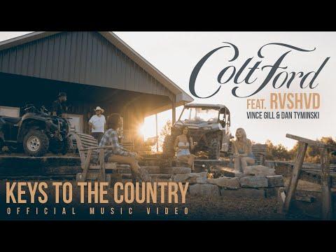 Смотреть клип Colt Ford Ft. Rvshvd, Vince Gill And Dan Tyminski - Keys To The Country